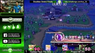 LUS 3.2 Doubles Grand Finals Hackey and Billz vs Twisty and Spaz! (Singles GF link in comments)