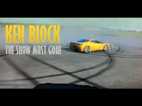 Ferrari 458 Italia KEN BLOCK 2012 Drifting PRO dubstep - Ferrari 458 vs V6 Clio - Drift race top gear