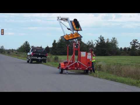 PTL2.4LD Portable Traffic Signal