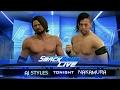 Aj Styles vs Shinsuke Nakamura   WWE Dream Match Highlights