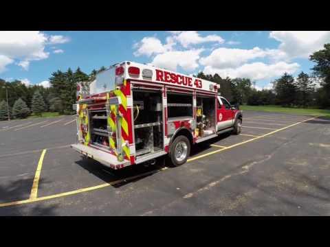 4 Guys Fire Trucks-North Franklin Twp, PA-F550 Mini-Pumper