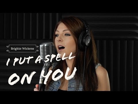 Video I PUT A SPELL ON YOU - Annie Lennox (Fifty Shades of Grey)-Cover by Brigitte Wickens download in MP3, 3GP, MP4, WEBM, AVI, FLV January 2017