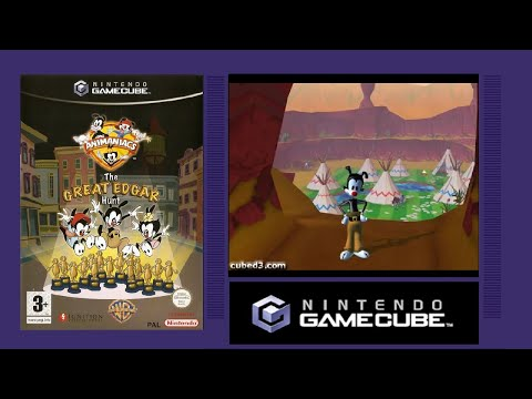 Animaniacs : The Great Edgar Hunt GameCube