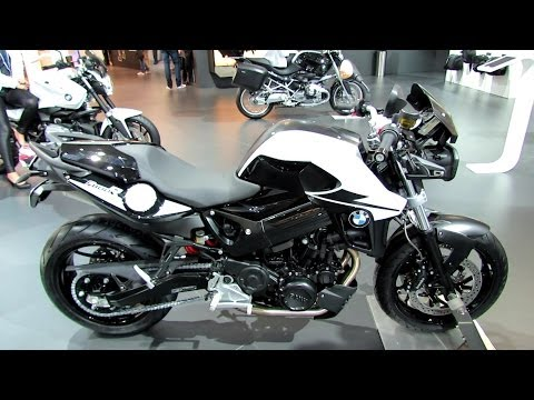 2014 BMW F800R Walkaround - 2013 EICMA Milano Motorcycle Exhibition