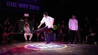 Ryu & Sup vs Dokyun & Lil Law – ONEWAY Vol.1 Poppin 1/4 Final