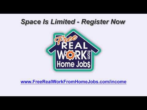 Work For Home 2013 | Work From Home Jobs With No Money Down