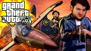 Join SkyVsGaming, RedVacktor, PrestonDanger and Alaskangeles for some hilarious GTA 5 Funny Moments in GTA 5 - BMX SUPER STARS?! (GTA 5 PC Online Funny Moments)?! (GTA 5 PC Online Funny Moments)Hey recruits! Welcome to GTA 5 - BMX SUPER STARS?! (GTA 5 PC Online Funny Moments) with SkyDoesMinecraft, RedVacktor, PrestonDanger, and AlaskAngeles! Today, we decided to see if we could become the best BMX tricksters in GTA. We have our bikes, our friends, and one dope game. Next, we takeover a swat car, fly planes into the ocean, and get eaten by sharks. If you enjoyed watching this gameplay, slap that like button and comment down below if Grand Theft Auto is your favorite game. Also, don't forget to subscribe for more funny moments and shenanigans. Thanks for watching GTA 5 - BMX SUPER STARS?! (GTA 5 PC Online Funny Moments) See you later!Friends:Red - http://www.youtube.com/redvacktorPreston - http://www.twitter.com/prestondanger_Evan - http://www.twitter.com/alaskangelesFollow me on these cool things!http://instagram.com/skydoesstuffhttps://twitter.com/#!/SkyDoesTweetinghttp://www.facebook.com/realskydoesminecraft
