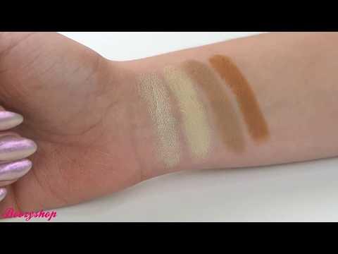 Makeup Revolution Makeup Revolution Crème Highlight and Contour Kit Light