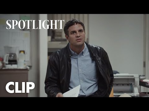 Spotlight (Clip 'It's Time')
