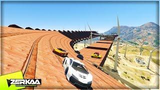 NASCAR WITH WINDMILLS | GTA 5 Funny Moments | E647 (GTA 5 PS4)