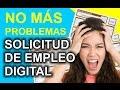Solicitud de Empleo Digital - YouTube