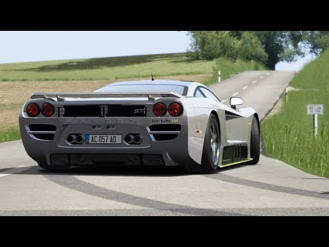 Saleen S7 Twin Turbo on Country Side Roads / Assetto Corsa