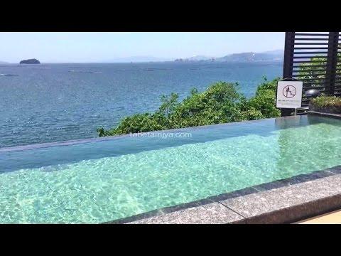 宮浜グランドホテルの露天風呂、海と繋がる絶景温泉が美しい!