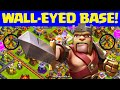 Clash of Clans ♦ WALL-EYED Base? ♦ Defense ♦ CoC ♦