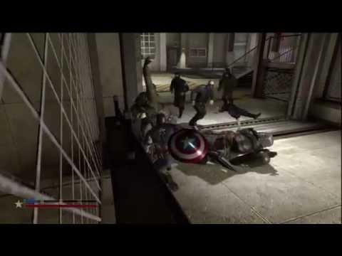 captain america super soldier psp game