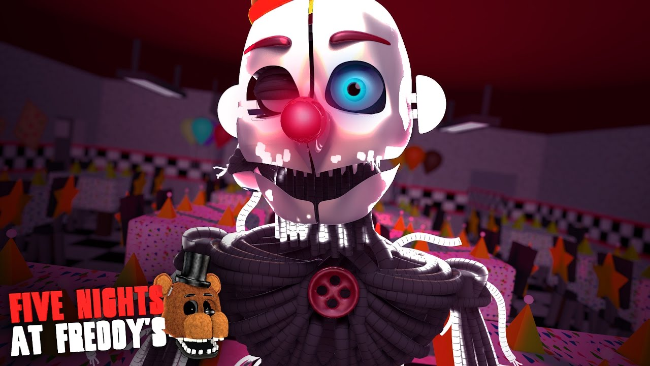 Minecraft: FIVE NIGHTS AT FREDDY'S #65 – ENNARD O ANIMATRONIC PALHAÇO!