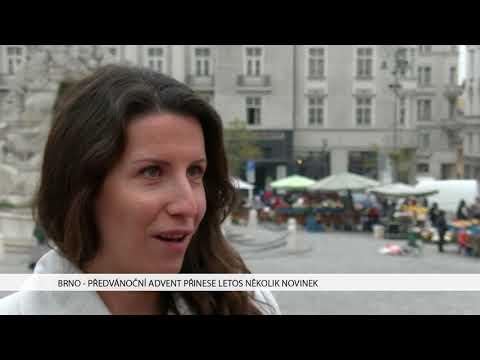 TV Brno 1: 9.11.2017 Předvánoční advent přinese letos mněkolik novinek