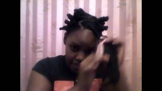 Im doing a product review on Giovanni Organic hair line, and also doing a 2 part video on my first attempt at doing BANTU Knots.