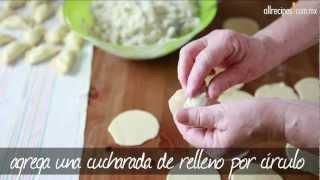 Pasta polaca rellena (pierogi)