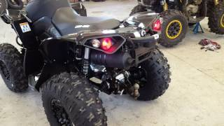 8. 2017 Can-Am® Renegade® X® xc 1000R Triple Black - First Start Exhaust Sound.