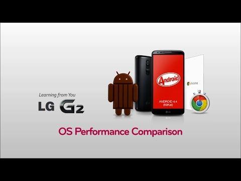 LG G2 - JellyBean vs KitKat