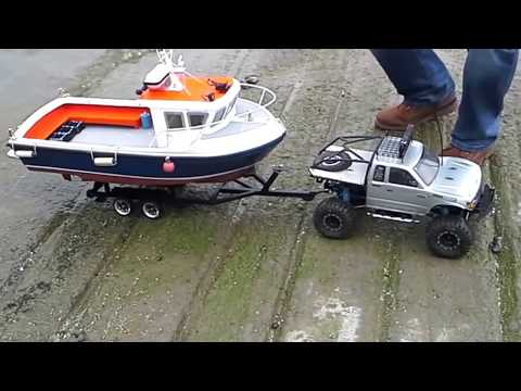 Rc boat launch