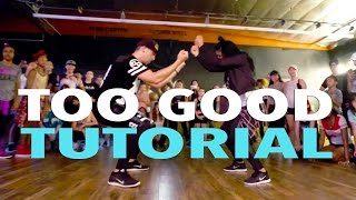 """▶ """"TOO GOOD"""" - Drake ft Rihanna Dance Video: https://youtu.be/_uSWSAIKaU0▶ INSTAGRAM: http://instagram.com/MattSteffanina▶ MUSICAL.LY & SNAPCHAT: @MattSteffanina▶ JusMove APP: http://appsto.re/us/7cHU3.i▶ HATS & SHIRTS:  http://mattfreestyle.com▶ TWITTER, INSTAGRAM, VINE » @MattSteffanina @DanceTutorialsLiveSong: Too Good - Drake ft RihannaSubscribe for more videos and learn how to dance!  Matt teaches weekly classes in Los Angeles at Millennium Dance Complex & IDA Hollywood.  For more info on workshops around the world, follow him on social media and sign up for his newsletter at http://www.MattSteffanina.com---------------------------------------------   SOCIAL MEDIA---------------------------------------------▶  TWITTER - http://twitter.com/DanceVidsLive▶  INSTAGRAM - http://instagram.com/DanceTutorialsLIVE▶  FACEBOOK - http://facebook.com/DanceTutorialsLIVE▶  WEBSITE: http://dancetutorialslive.com▶  BOOKING: MattSteffanina@gmail.comMATT'S SOCIAL MEDIA:Twitter, Instagram & Vine: @MattSteffaninaTWITTER: http://twitter.com/MattSteffaninaINSTAGRAM: http://instagram.com/MattSteffaninaFACEBOOK: http://facebook.com/MattSteffaninaWEBSITE: http://MattFreestyle.comBLOG: http://MattSteffanina.comGOOGLE+: https://plus.google.com/+mattsdance_____________________________ ***Let us know what Tutorial you'd like to see next on Twitter and FB***            Twitter: http://twitter.com/DanceVIDSlive            Facebook: http://facebook.com/DanceTutorialsLIVESubscribe to DanceTutorialsLive YouTube Channel - http://full.sc/VffMaYComment, rate, & subscribe!#WODNetwork DanceTutorialsLIVE is dedicated to providing the best online tutorials in all styles of dance. We bring you the BEST teachers from around the world to break down their choreography, moves, and more. We are always taking your tutorial requests and helping you grow as a dancer!"""