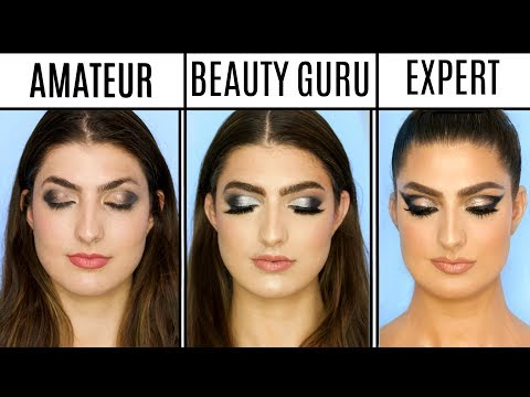 4 Levels Of Makeup: Amateur to Professional Makeup Artist