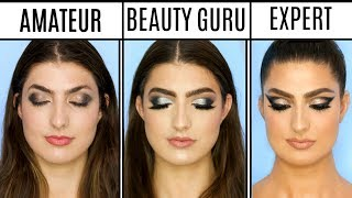 Video 4 Levels Of Makeup: Amateur to Professional Makeup Artist MP3, 3GP, MP4, WEBM, AVI, FLV Juni 2019