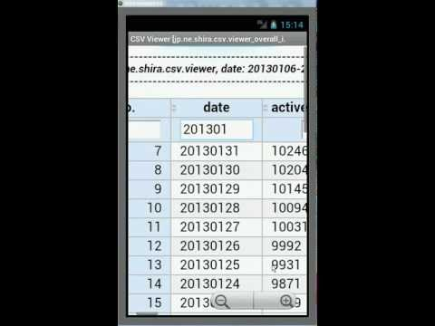 Video of CSV Viewer