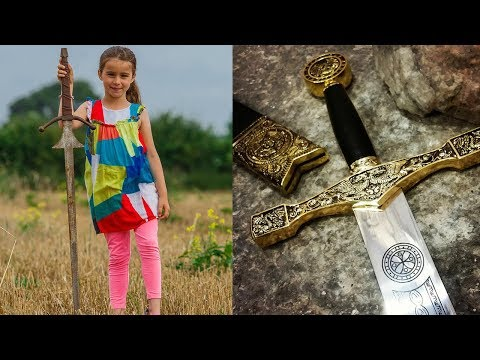 7 Year Old Girl Finds 'EXCALIBUR' In Legendary Lake