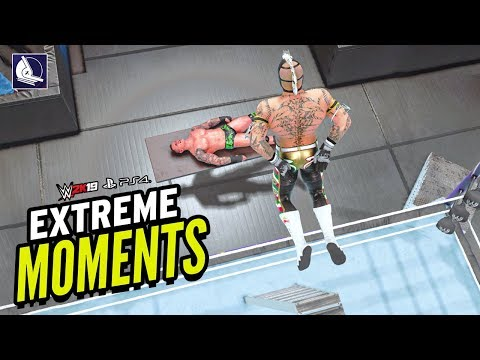 """WWE 2K19 Extreme Moments """"The Comeback"""""""