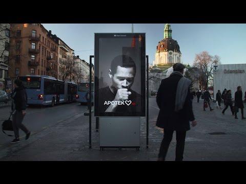 Kašlající billboard