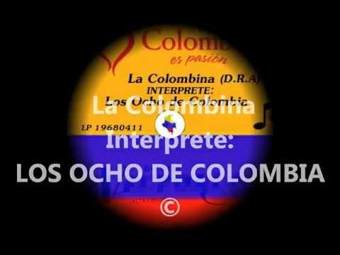 LA COLOMBINA - Los ocho de Colombia. (LP)