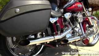 9. 2012 Harley-Davidson Motorcycle FLSTSE3 CVO Softail Convertible for Sale