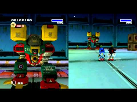 Sonic Adventure 2 HD Co-Op Playthrough Dark Story Part 1