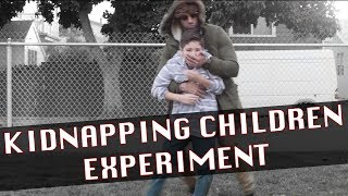 THE KIDNAPPING CHILDREN EXPERIMENT!