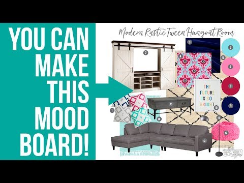 How To Make An Interior Design Mood Board In Photoshop