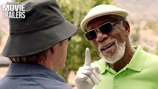 Nonton Just Getting Started | First trailer for comedy with Morgan Freeman & Tommy Lee Jones Film Subtitle Indonesia Streaming Movie Download