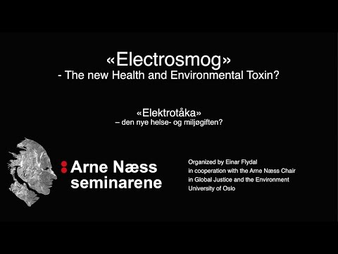 Electrosmog: The New Environmental Health Toxin? A lecture by Martin Pall, PhD