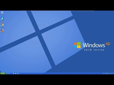 Windows XP 2018 Edition (Theme for Windows 10)