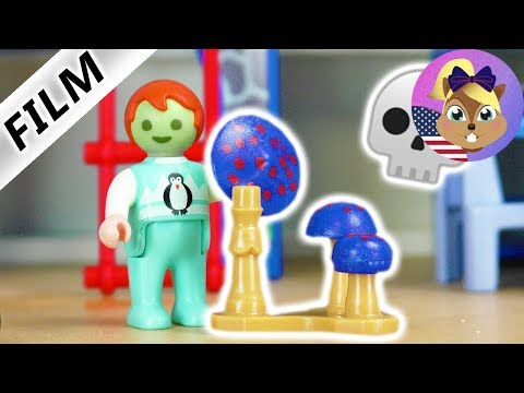 Playmobil Film English | POISONOUS MUSHROOMS | Emma has to go to the hospital?!  Smith Family