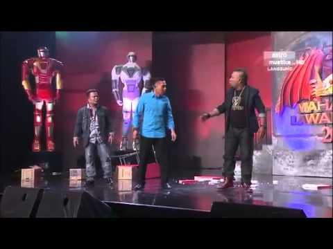 Persembahan bersama Artis Jemputan - Jambu   Minggu 12   Maharaja Lawak Mega 2013
