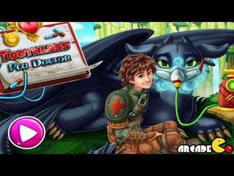 How To Train Your Dragon 2 Toothless Flu Doctor