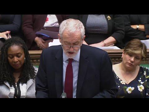 Großbritannien: Brexit-Debatte im Unterhaus - Labour- ...