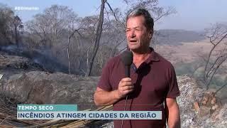 Incêndios atingem várias cidades da região de Marília