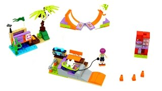 Lego Friends 41099 Heartlake Skate Park Speed Build