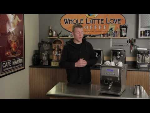 Gaggia Titanium overview from Whole Latte Love