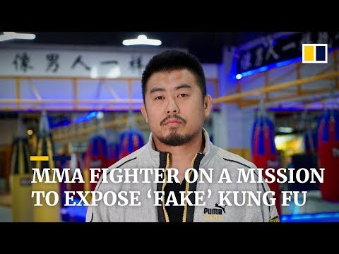 Mma Fighter On A Mission To Expose 'fake' Kung Fu