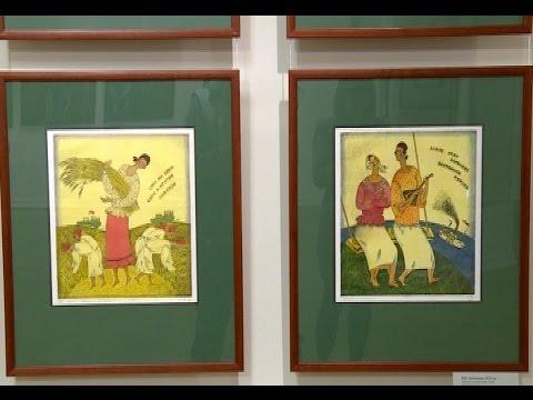 В Музее изобразительных искусств открылась выставка Николая Локотькова